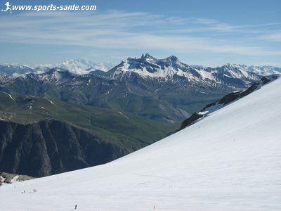 Panorama depuis le Glacier du Mantel aux Deux Alpes (Is�re 38)