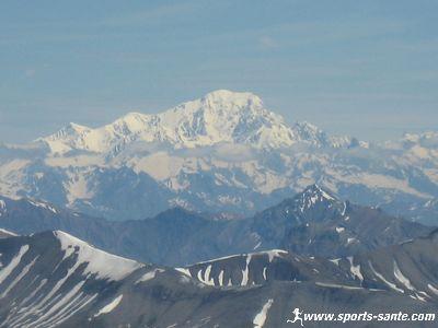 Photos du Mont Blanc depuis le glacier des 2 Alpes