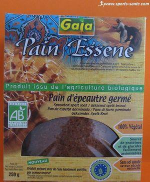 Essene bio, pain d'épeautre germé issu de l'agriculture biologique