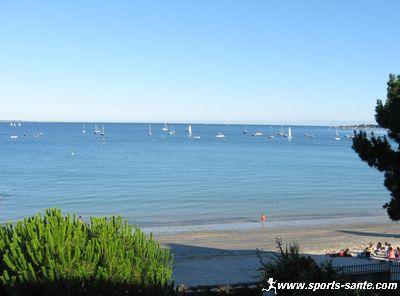 Initiation au multicoque sur la plage du Cap Coz Fouesnant Finist�re Bretagne