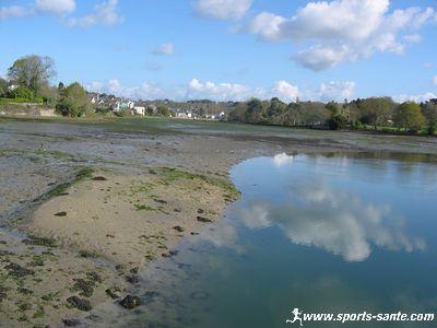 La For�t-Fouesnant, son golf et son port de plaisance � Port-La-For�t, sud Finist�re (Bretagne)