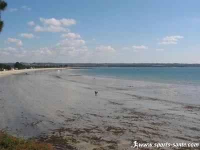 Plage du Cap Coz commune de Fouesnant (29170) dans le Finist�re (R�gion Bretagne)