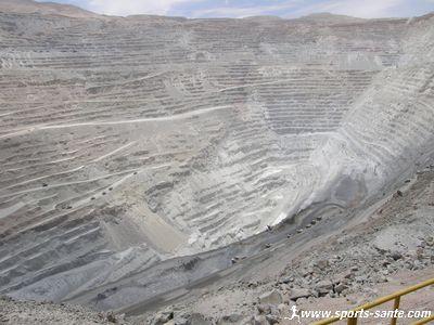 Visite des gigantesques mines de cuivre de Chuquicamata au Chili
