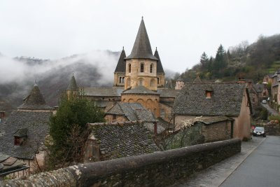 Photo de l'Abbatiale de Conques