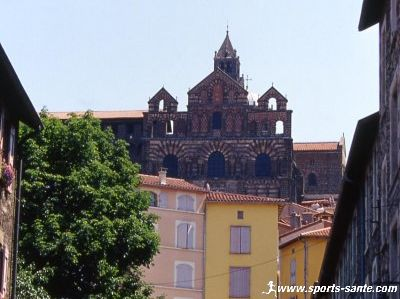 Photo de la cath�drale du Puy en Velay