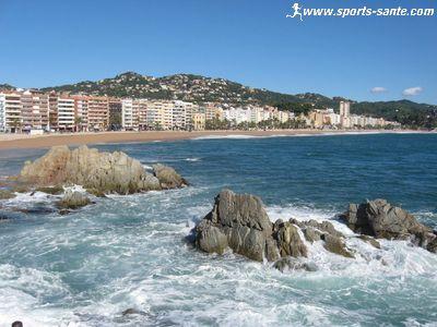 S�jour � Lloret de Mar en Espagne, bon plan vacances au soleil : photo de la plage et des criques