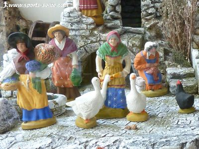 Photo de santons de Provence � Manosque