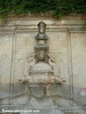 Photo de la Fontaine Nostradamus à Saint-Rémy de Provence