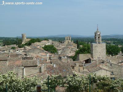 Cucuron et Vaugines villages de Provence en Vaucluse, sites cin�matographiques