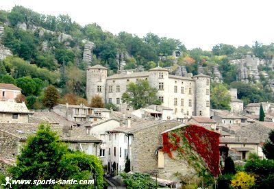 Vog village m di val en ard che m ridionale r gion - Office du tourisme de vallon pont d arc ...