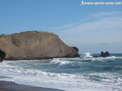 Promenade sur la plage richelieu entre le cap et le grau d for Reportage sur le cap d agde