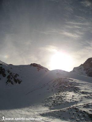 Panorama depuis le glacier de la Chiaupe