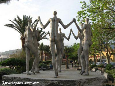 Monument a la Sardana a Banyuls de la Marenda