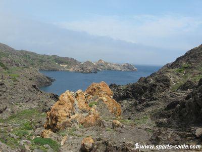 Photo des falaises au Cap de Creus pr�s de Llansa