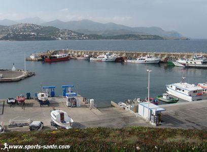 Photo de port de Llansa en Espagne