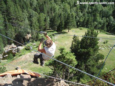 Parcours a rien sur tyrolienne dans les pyr n es orientales - Crepir avec une tyrolienne ...