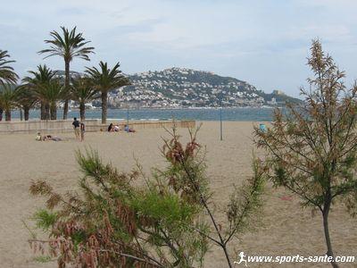 Photo de la plage de Rosas en Espagne