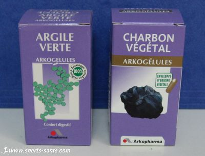 Photo de charbon actif végétal
