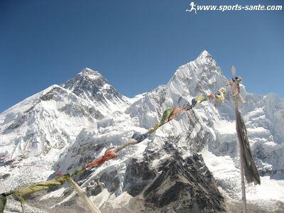 Clich� de l'Everest depuis le Kala Pathar