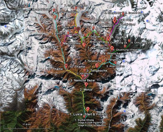Trail au N�pal : l'Everest Lafuma Sky Race