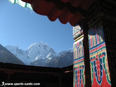 Photo du Kangtega � Pangboche