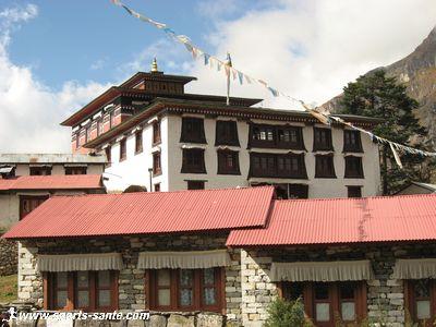 Le monast�re de Tengboche, Khumbu, N�pal