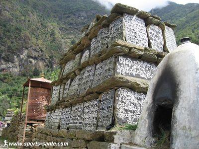 En route vers la vall�e de l'Everest : de Lukla � Phakding