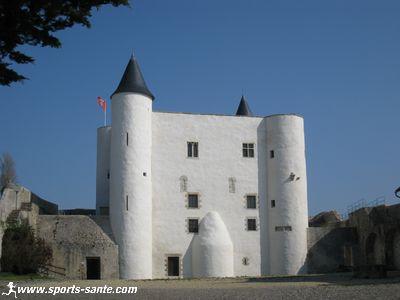 Le ch�teau fort de Noirmoutier en l'Ile en Vend�e