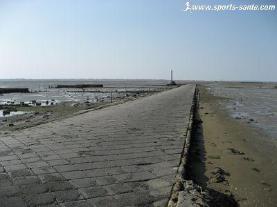 Le passage du Gois entre le continent et Noirmoutier