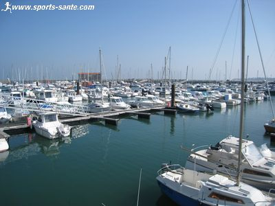 Photo du port de plaisance de l'Herbaudi�re � Noirmoutier
