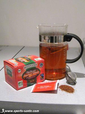 Thé rouge rooibos pour maigrir – Régime pauvre en calories