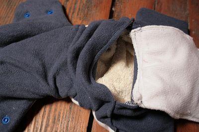 Photo de couches lavables pour bébé TE1 avec poche