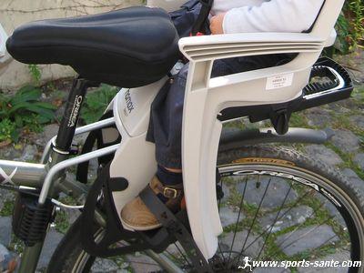 Siège Vélo Bébé Hamax Smiley Compatible VTT Sans Porte Bagage Avis - Vélo porte bébé
