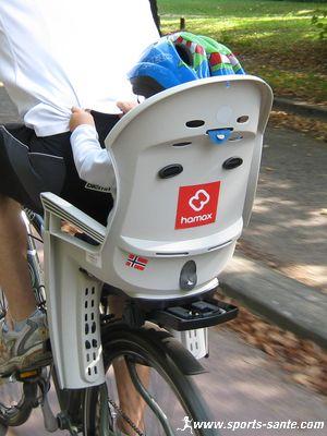 Siège vélo bébé Hamax Smiley compatible VTT